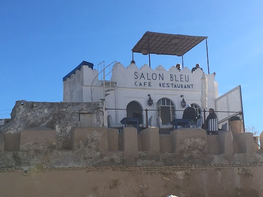 Le Salon Bleu in Tangier