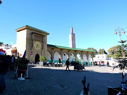The minaret of Sidi Bou Adib Mosque
