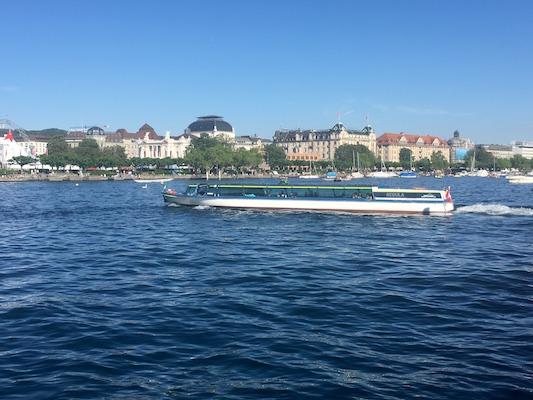 Crociera in battello sul lago di Zurigo