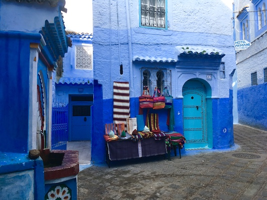 Bags in Chefchaouen
