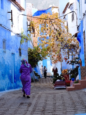 Local people in Chefchaouen