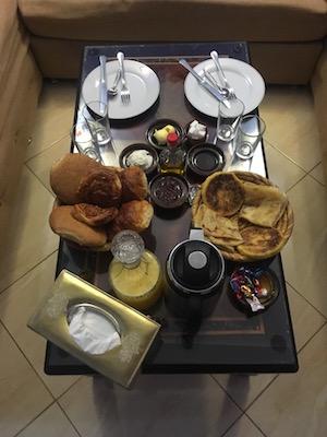 Breakfast of Chez Aziz