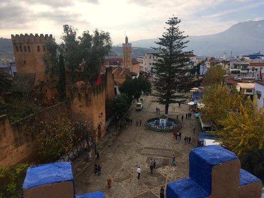 View of Plaza Uta el-Hammam