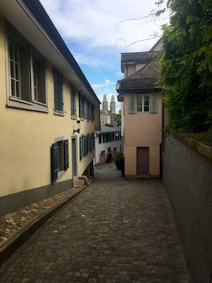 Quartiere Schipfe di Zurigo