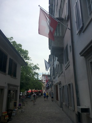 Passeggiata nel quartiere Schipfe