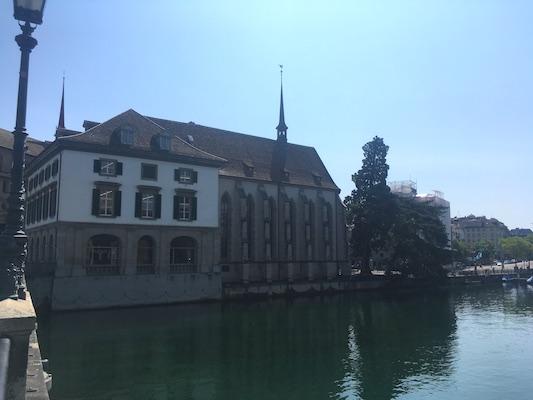 Wasserkirche di Zurigo