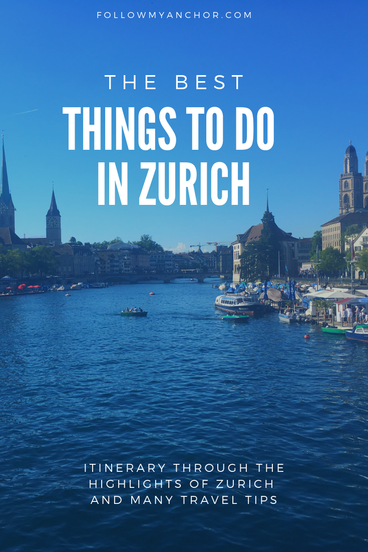 THINGS TO DO IN ZURICH: ITINERARY AND TRAVEL TIPS