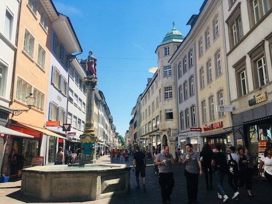 Marktgasse in Winterthur