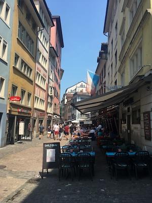 I ristoranti di Niederdorf