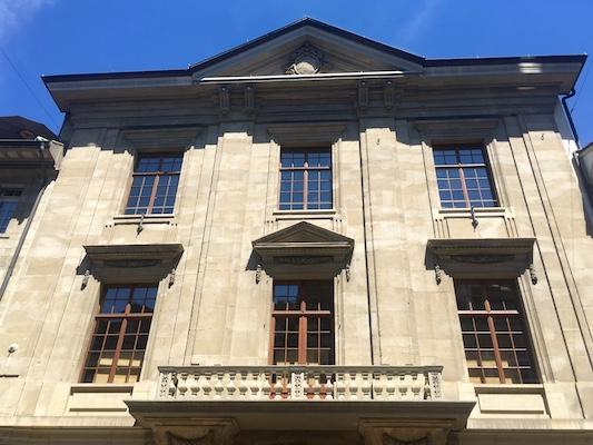 Il Rathaus di Winterthur a Marktgasse