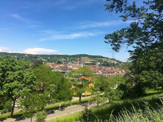 Panorama di Winterthur da Rosengarten