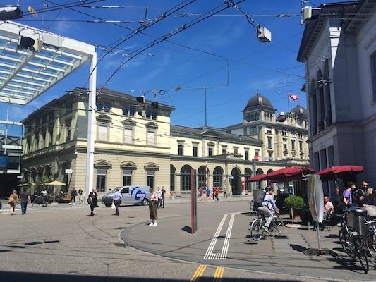 La stazione di Winterthur