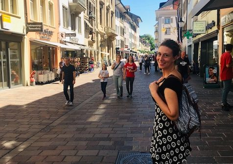 Walking around Marktgasse, one of the things to do in Winterthur