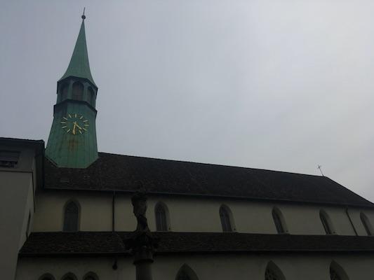Augustinerkirche in Zurich