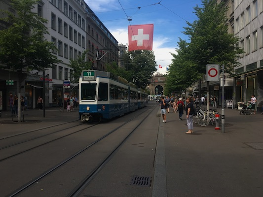 Bahnhofstrasse in Zurich