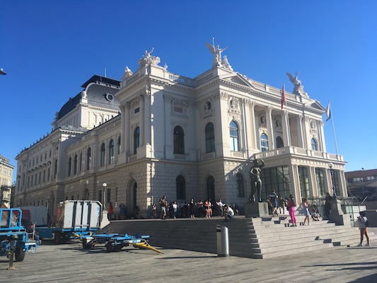 The Opera House of Zurich