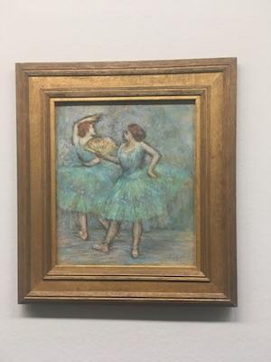 Le Due Ballerine di Degas nell'Albertina