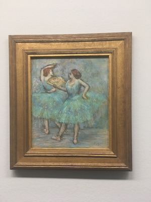 The Two Dancers by Degas in Albertina