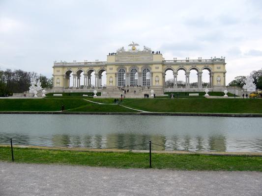 La Gloriette nel Parco di Schonbrunn