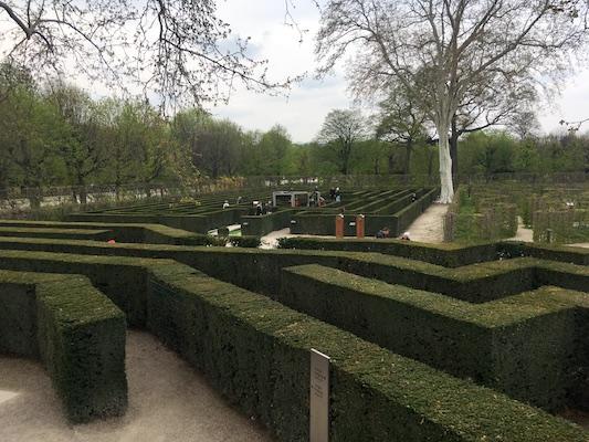 Il Labirinto nel Parco di Schonbrunn
