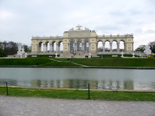 The Gloriette in Schonbrunn Park