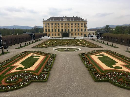 The Privy Garden in Schonbrunn