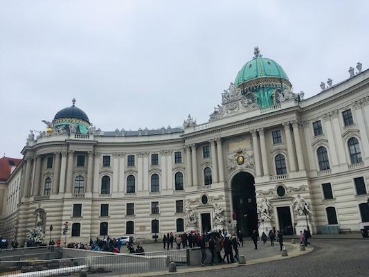 Hofburg di Vienna