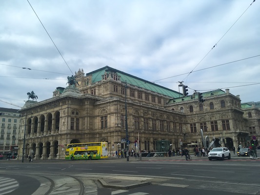 The Opera House of Vienna