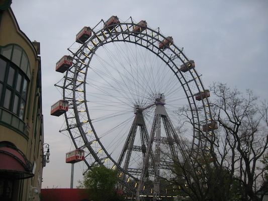 The Giant Ferris Wheel of Prater