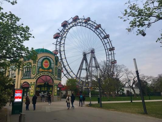 La Ruota Panoramica del Prater a Vienna