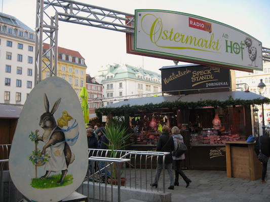 Ostermarkt Am Hof in Vienna