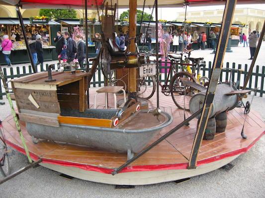 Carosello vintage nella reggia di Schonbrunn