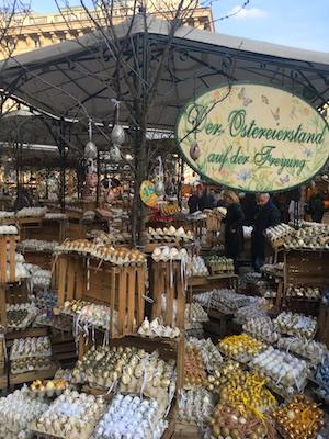 Il mercatino di Pasqua di Freyung