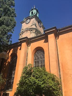 Campanile della Cattedrale di Stoccolma