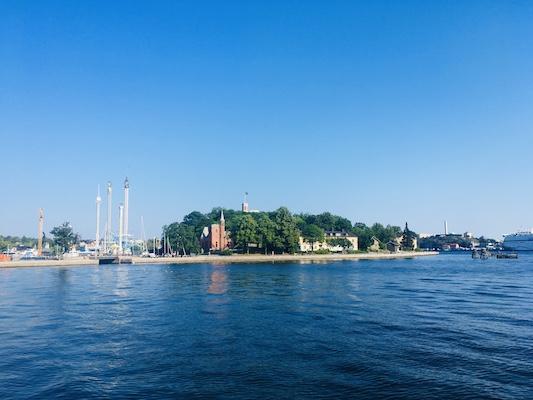 View of Skeppsholmen Island