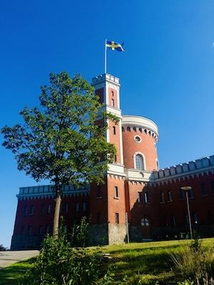 The fortress of Kastellet in Kastellholmen in Stockholm