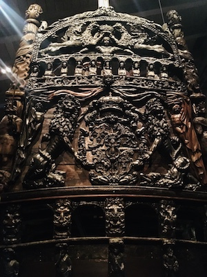 The fine decorations and sculptures of Vasa
