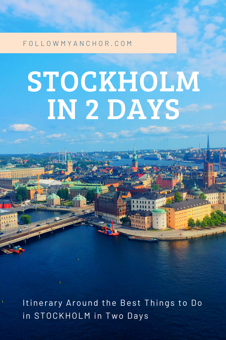 THINGS TO DO IN STOCKHOLM IN TWO DAYS
