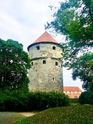 Uno dei bastioni tipici di Tallinn