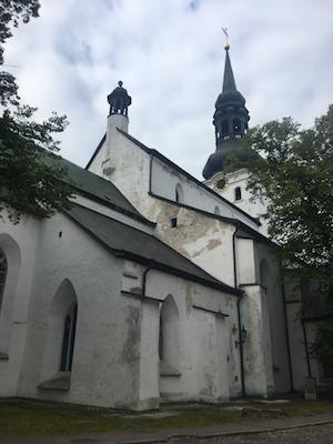 Esterno della Cattedrale di Toompea