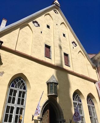 Facciata della Casa della Gilda Maggiore