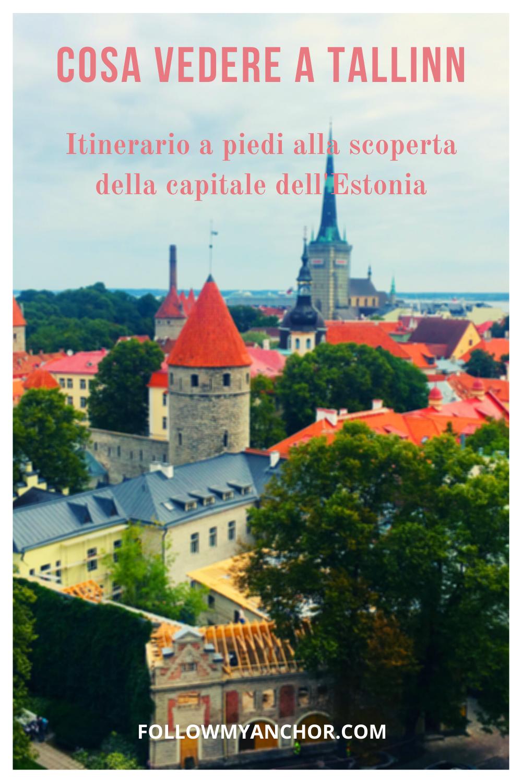 COSA VEDERE A TALLINN: ITINERARIO A PIEDI PER CHI VIAGGIA IN CROCIERA