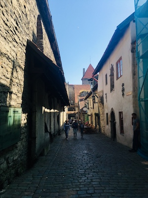 Passaggio di Santa Caterina a Tallinn
