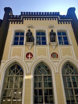 Facade of Saint Canute's Guild on Pikk Street