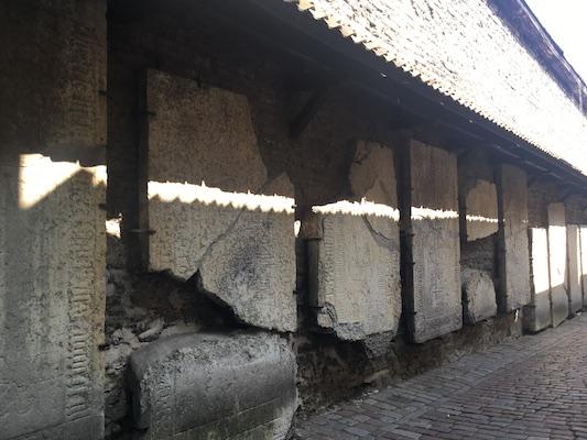 Tombstones of Saint Catherine's Passage
