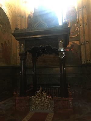 Cappella di Alessandro II all'interno della Chiesa del Salvatore sul Sangue Versato