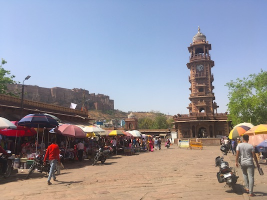 Stands at Sardar Market and Clock Tower