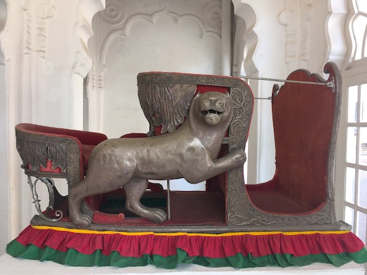 Elephant Seat in Mehrangarh Fort