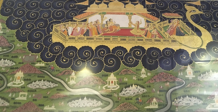 One of the miniatures of Mehrangarh Fort