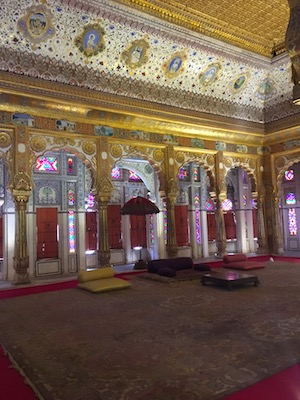 Flower Palace in Mehrangarh Fort